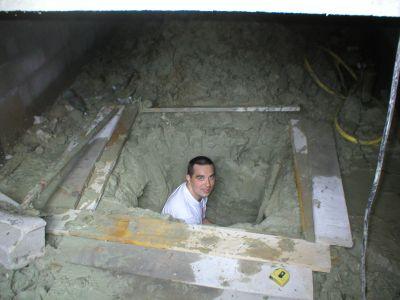 le puisard du vide sanitaire marine laurent le site. Black Bedroom Furniture Sets. Home Design Ideas
