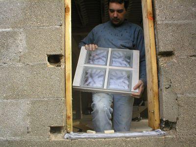 la pose des pav s de verre marine laurent le site. Black Bedroom Furniture Sets. Home Design Ideas