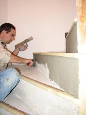 l enduit de l escalier marine laurent le site. Black Bedroom Furniture Sets. Home Design Ideas